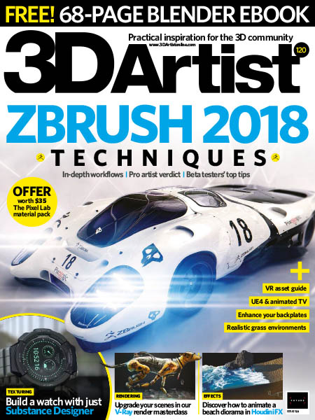 3D Artist Issue 120 June 2018 Pdf