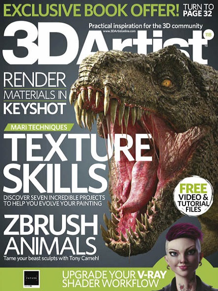 3D Artist Issue 118 April 2018 Pdf