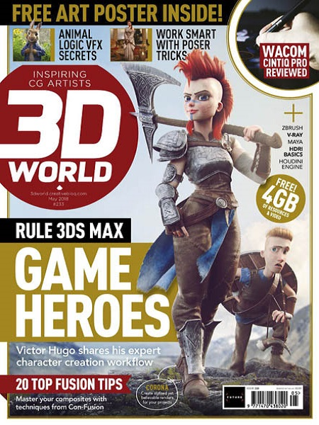 3D World UK May 2018 Pdf