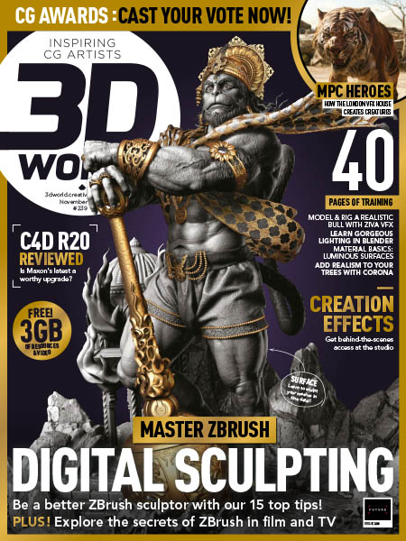 3D World UK November 2018 Pdf