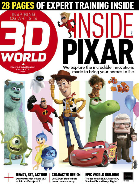 3D World UK October 2018 Pdf