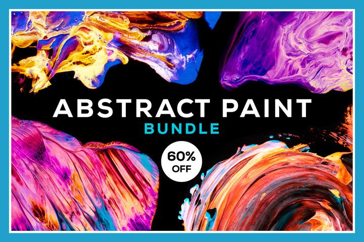 Abstract Paint Bundle Pack