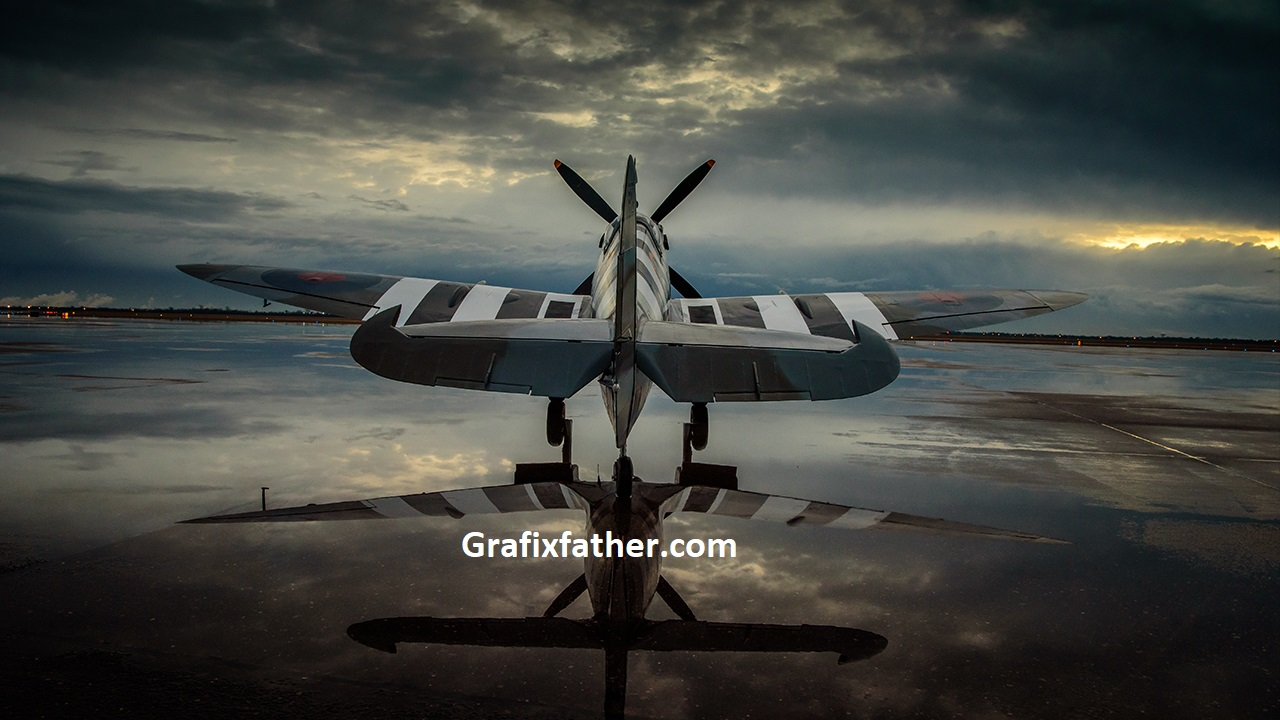 Aviation Photography Post-Processing Historical Planes