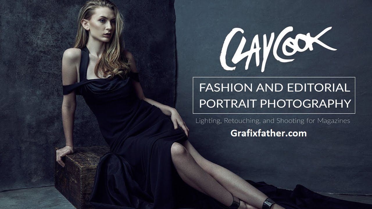 Clay Cook's Fashion and Editorial Portrait Photography