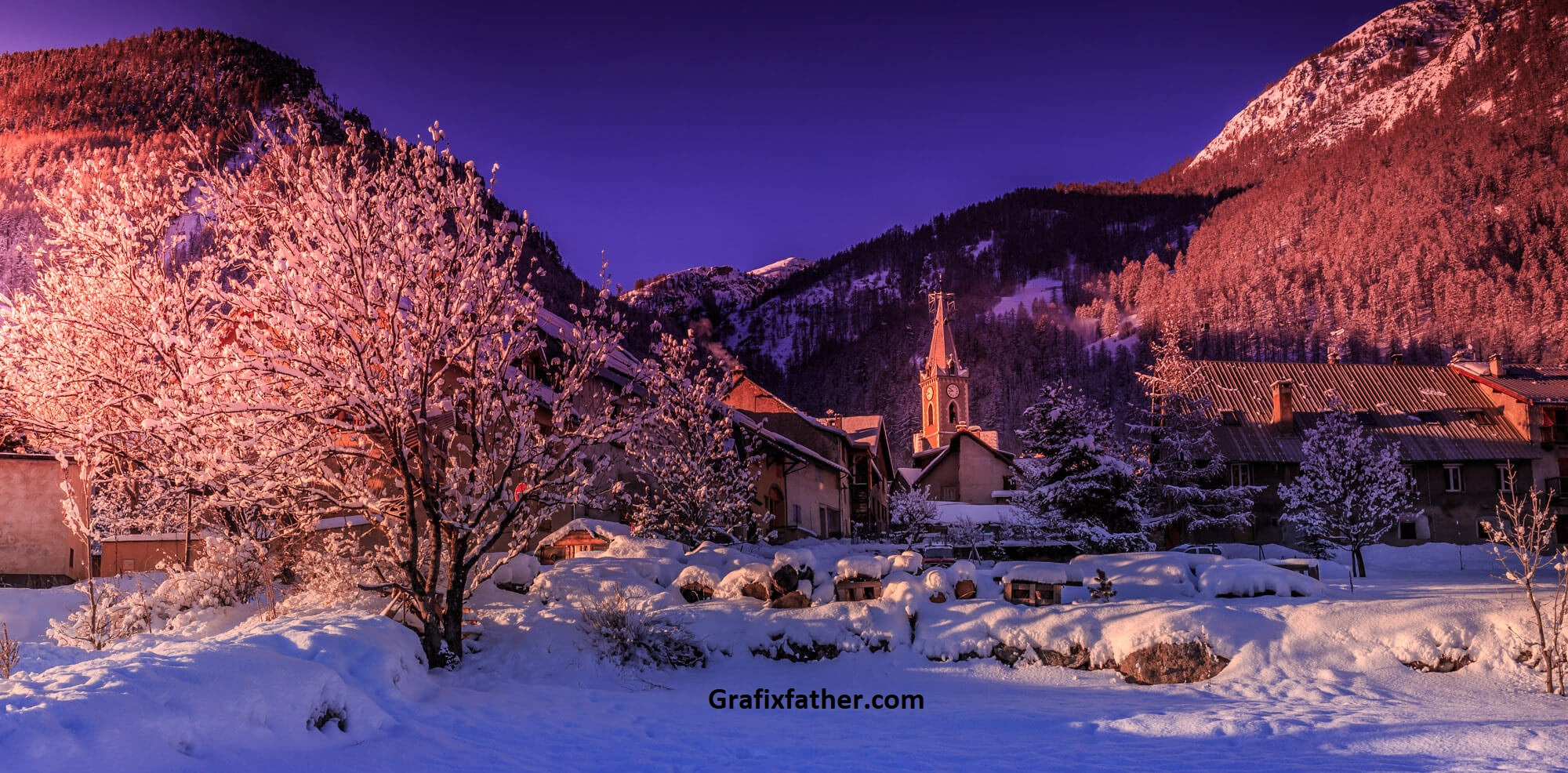 PhotoSerge Winter Landscapes Photography