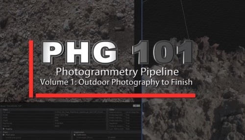 VFX for FilmMakers Photogrammetry Pipeline Volume1 Outdoor Photography to finish