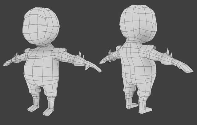 Blender Low Poly Character Creation