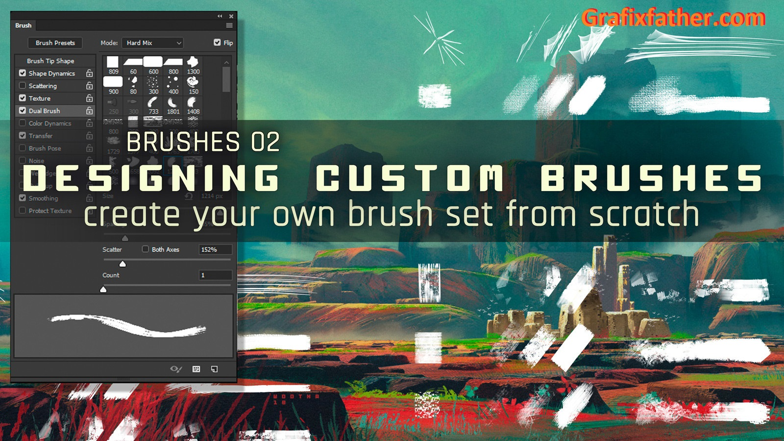 Create a Custom Brushes Set from Scratch in Photoshop
