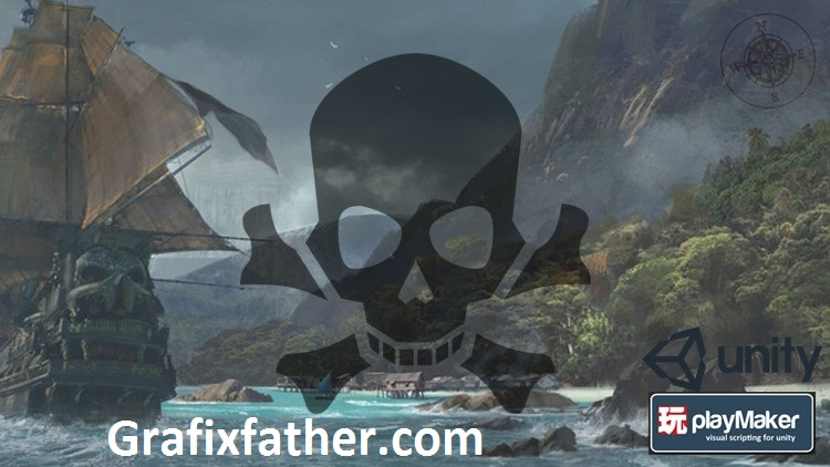 Create a Fun Pirate Trading Game in PlayMaker & Unity