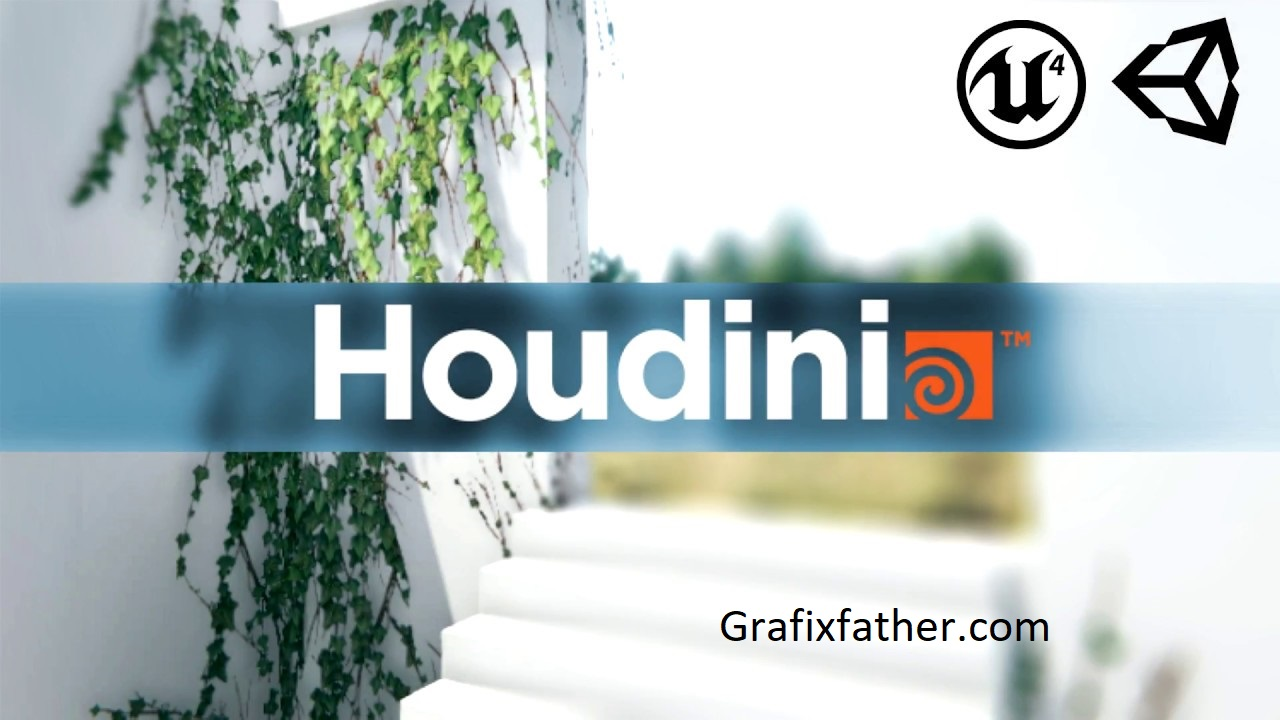 Create foliage for Games with Houdin