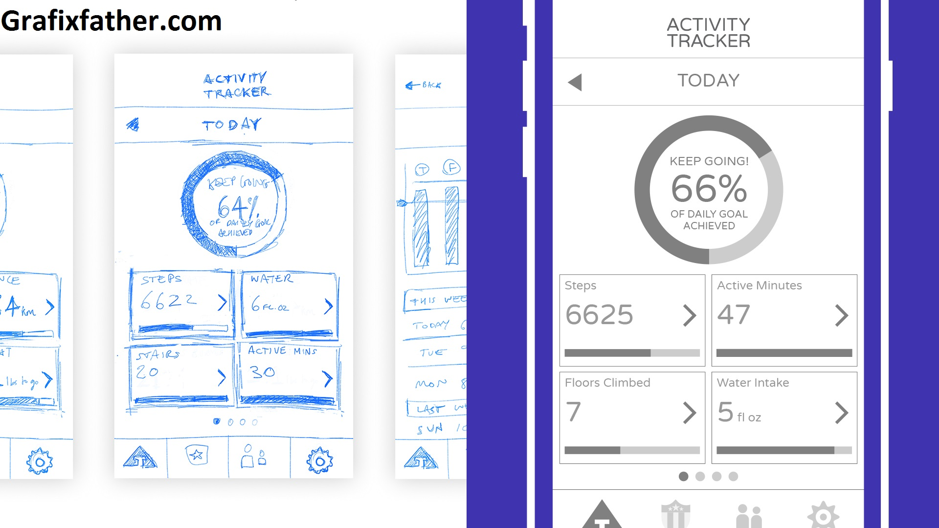 Designing an Animated App UI with Illustrator