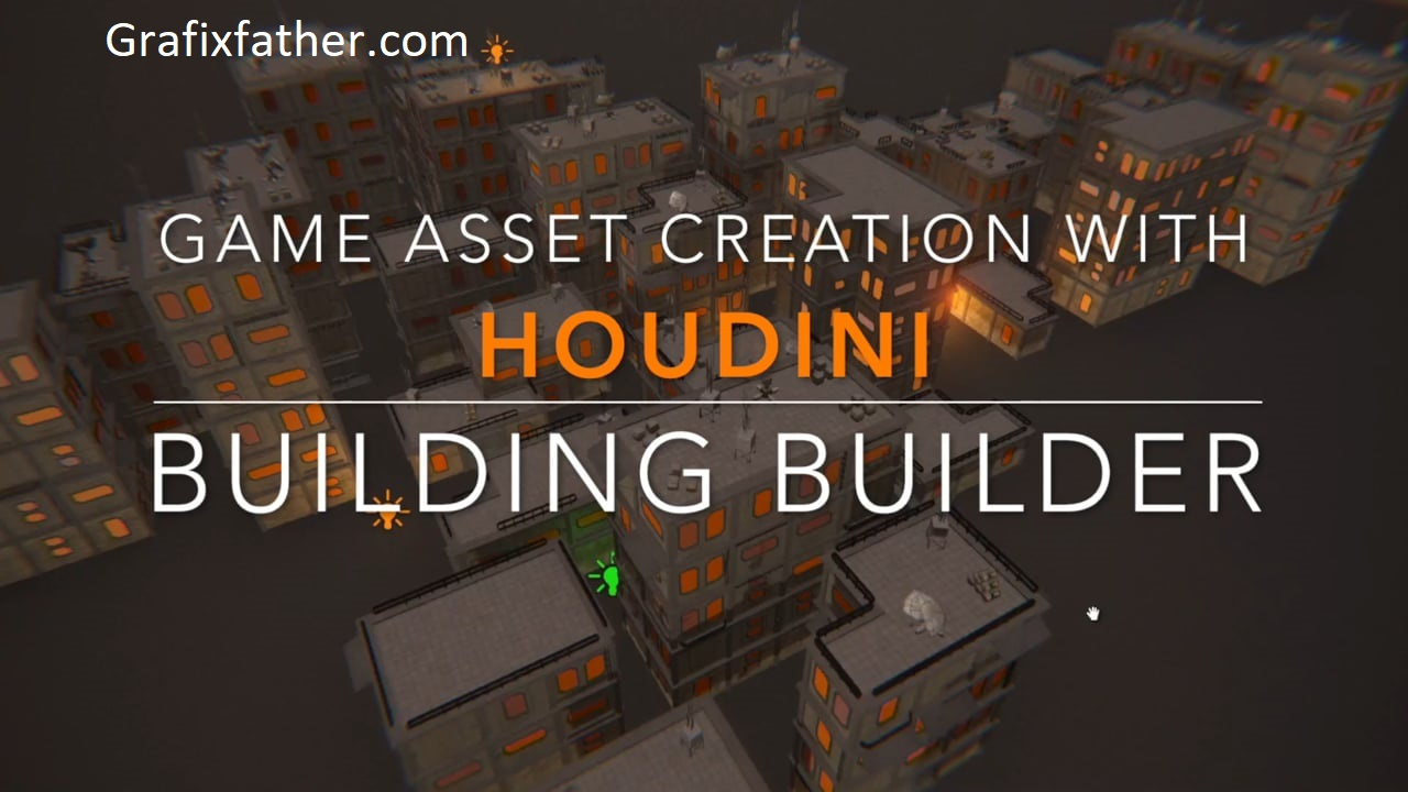 Game Asset Creation with Houdini Procedural Buildings