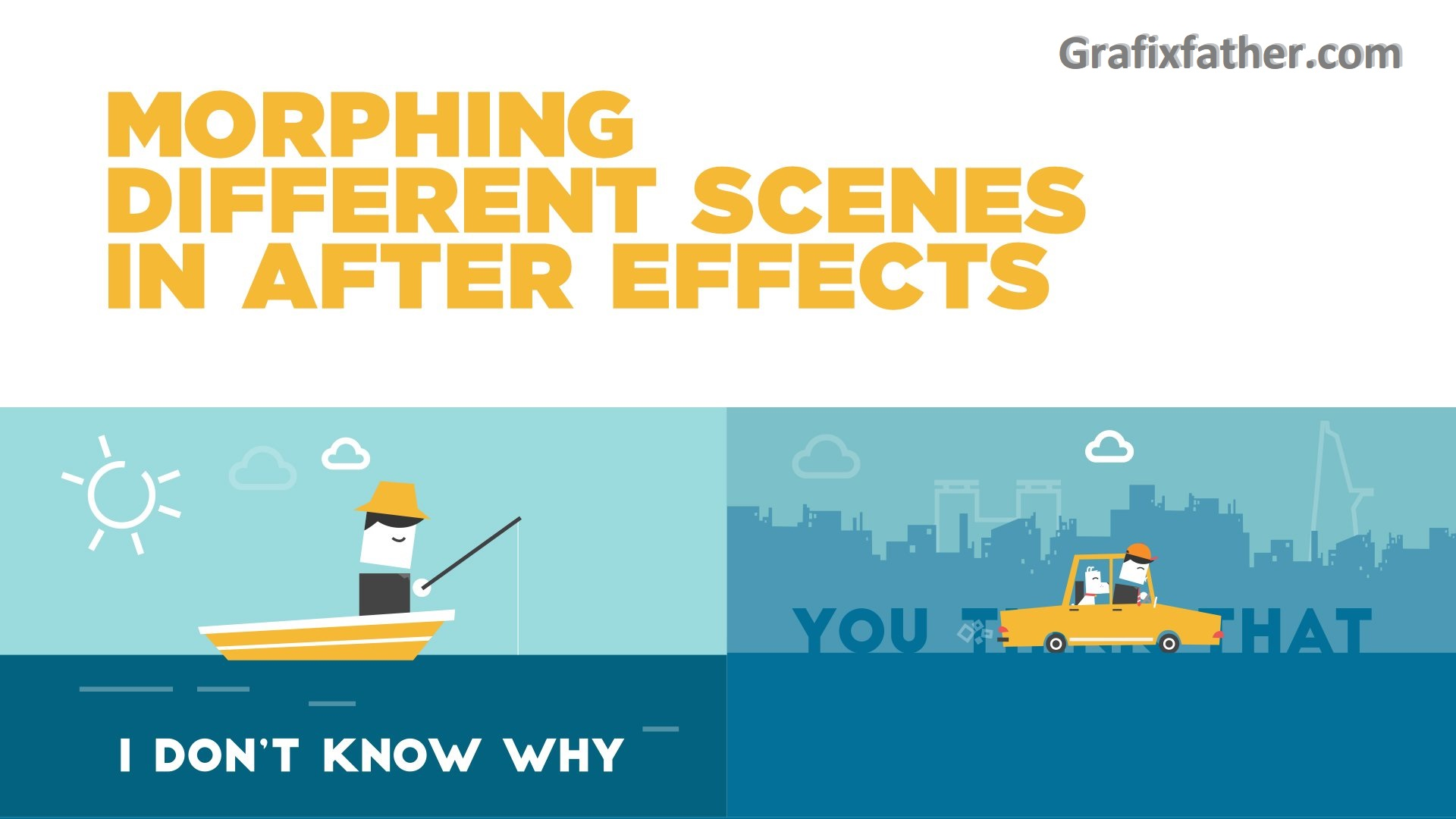 Morphing 2 different scenes in After Effects (Leo Dinh)