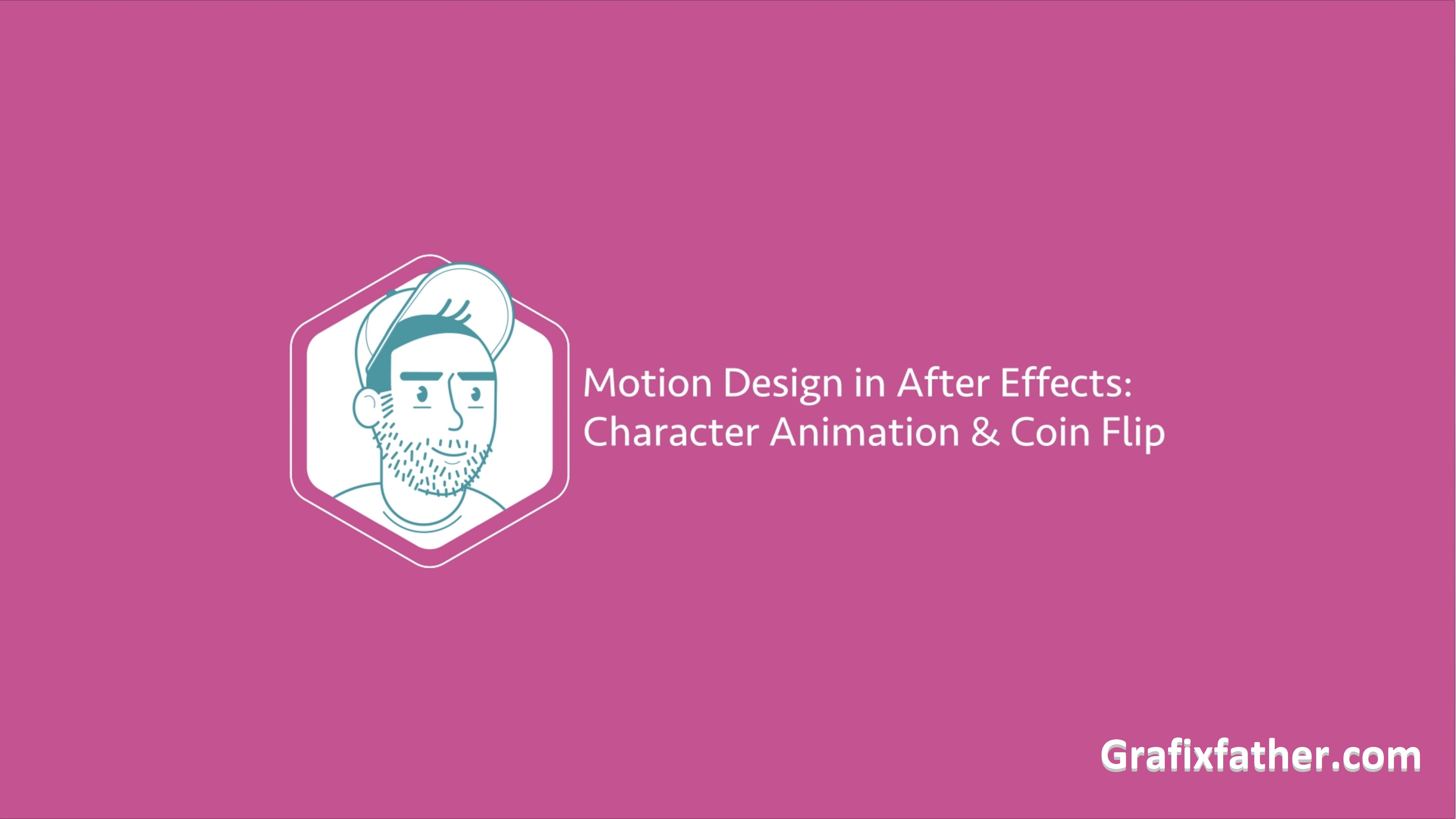Motion Design in After Effects - Character Animation and Coin Flip