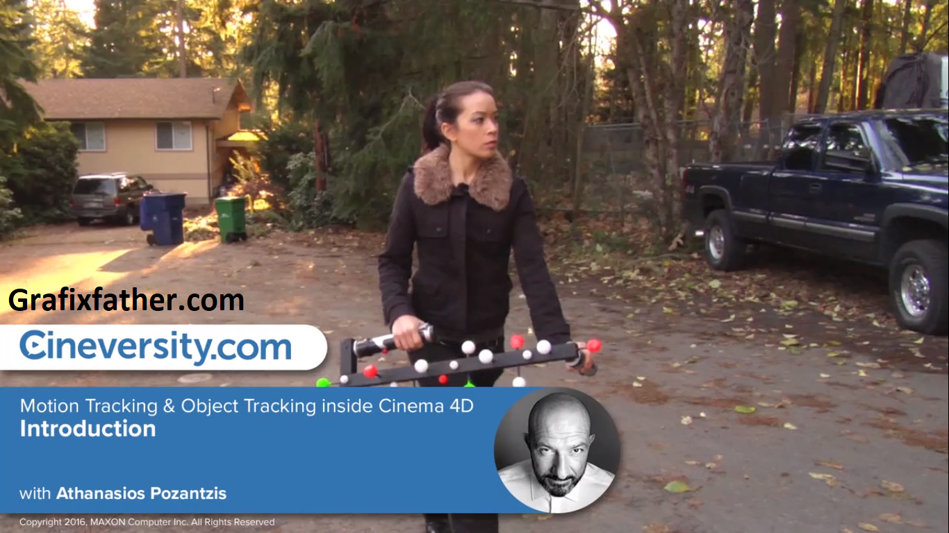Motion Tracking & Object Tracking inside Cinema 4D: The Project Footage