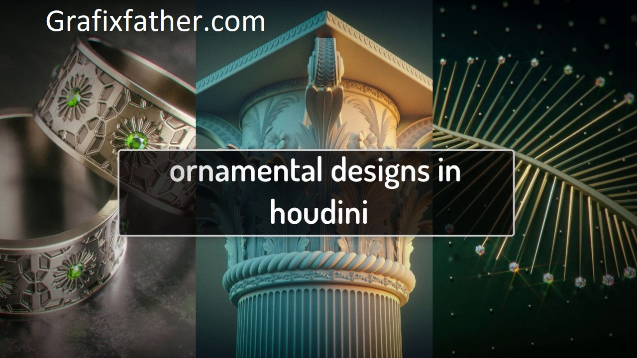Ornamental Designs in Houdini