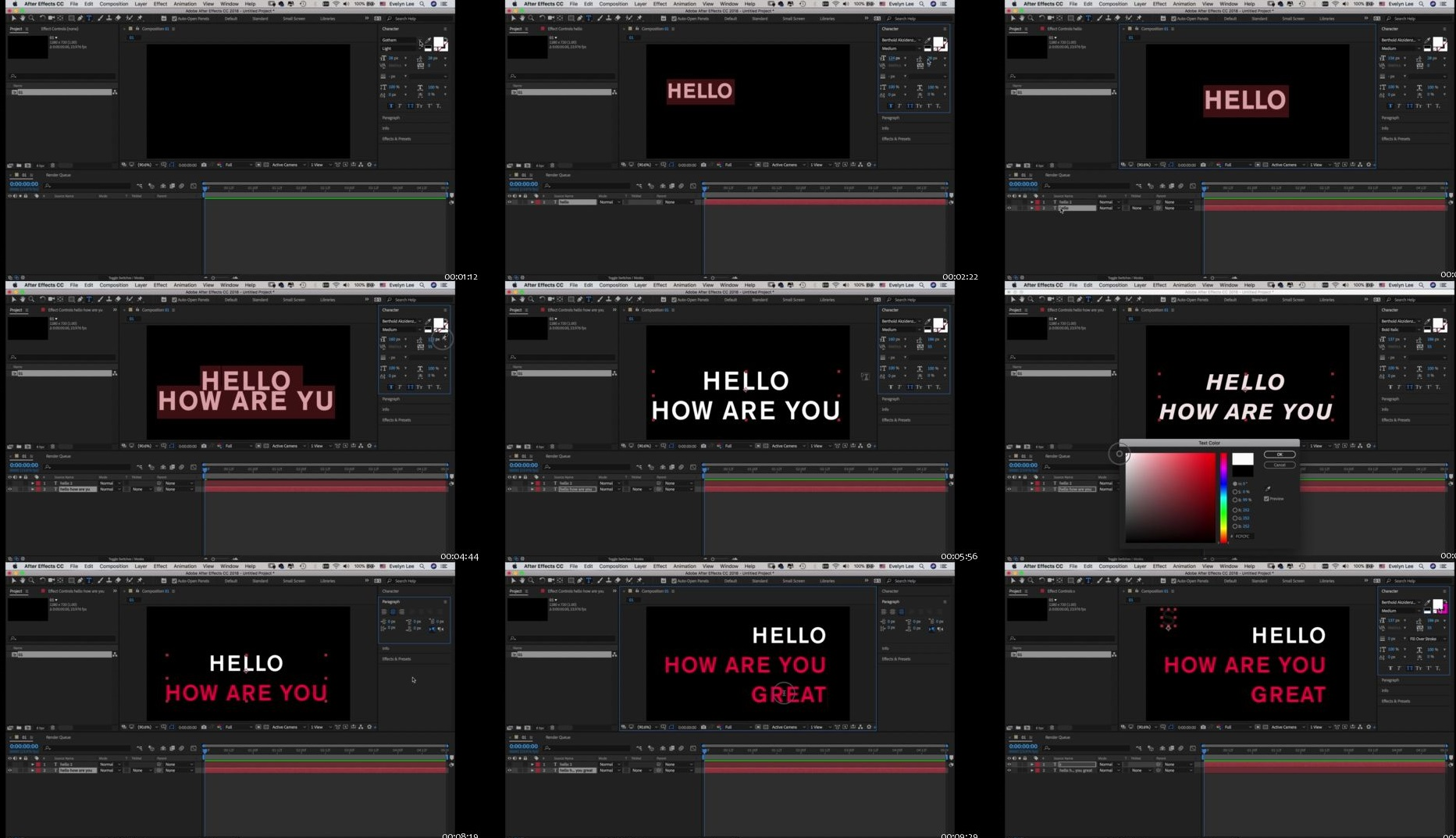 Master Type in After Effects