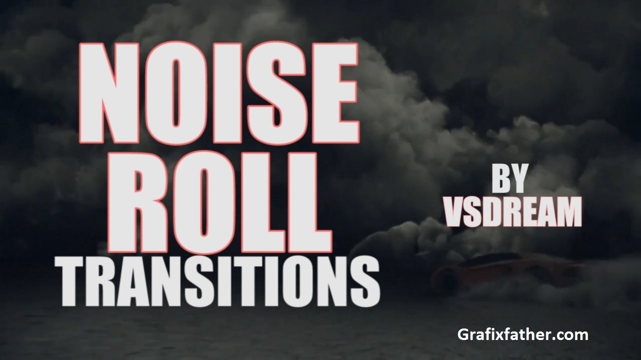 Noise Roll Transitions Presets Premiere Pro Templates 238360