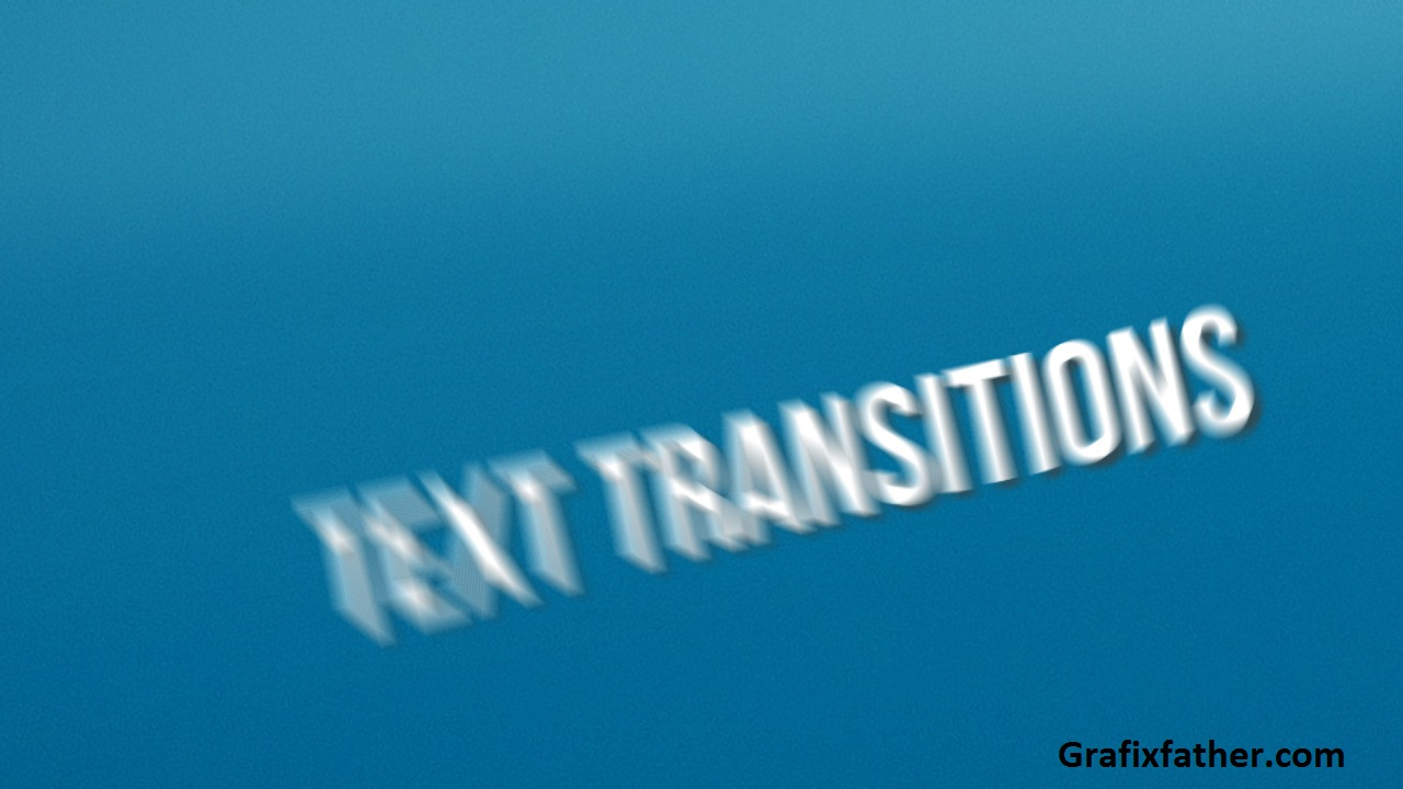 Perspective Bounce Text Transitions Premiere Pro Templates 239399