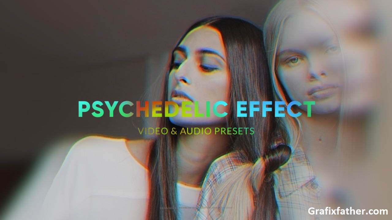 Psychedelic Effect Premiere Pro Templates 238311