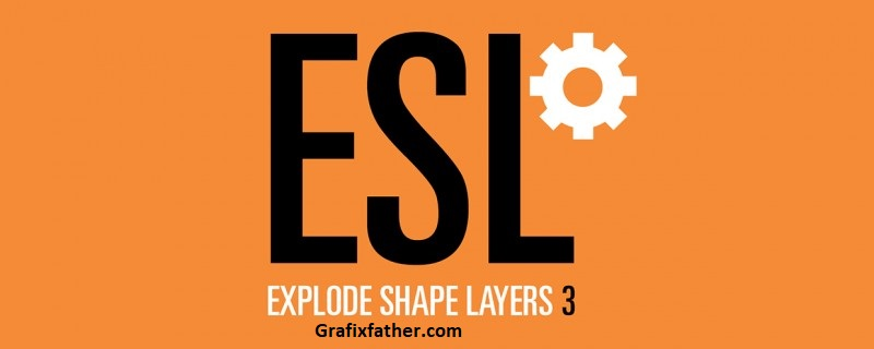Aescripts Explode Shape Layers 3