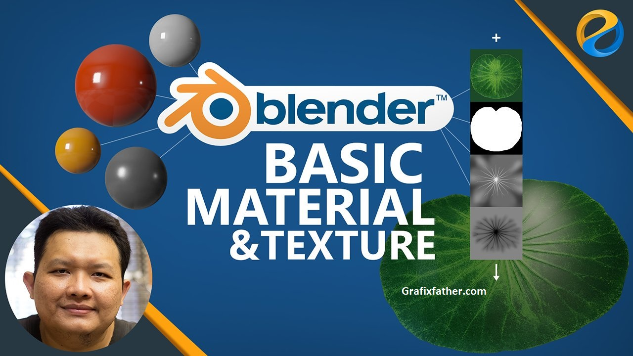 Blender Basic Material and Texturing by Widhi Muttaqien