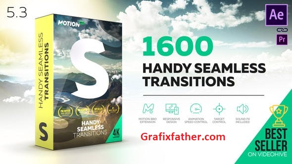 Handy seamless transitions pack Latest Version