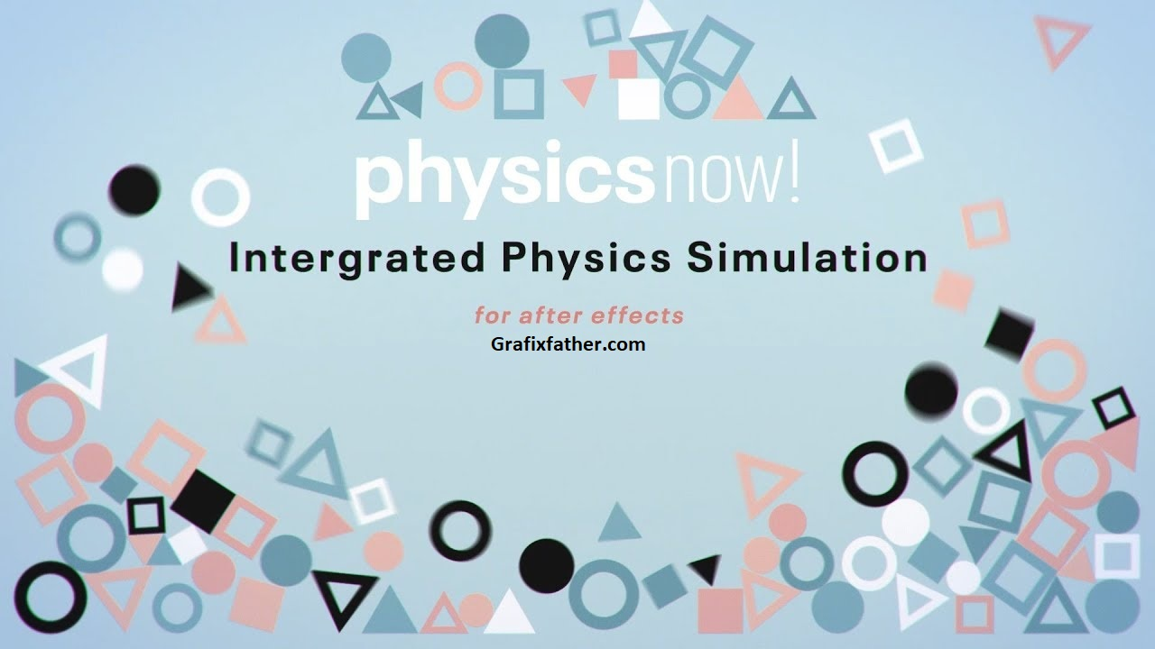 Physics Now! Integrated Physics Simulation for After Effects