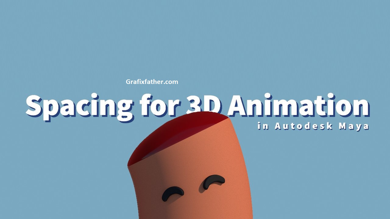 Spacing for 3D Animation in Autodesk Maya