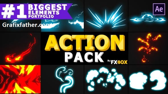 VideoHive Action Elements Pack   After Effects 23863435