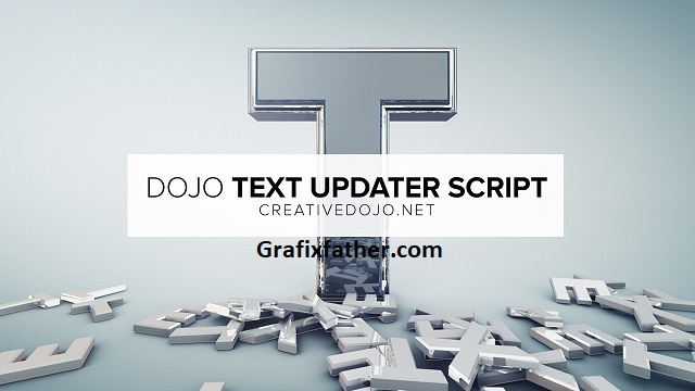CrreativeDojo Dojo Text Updater Latest