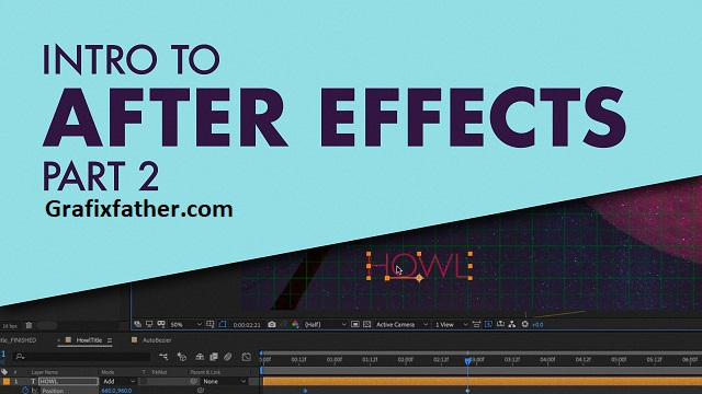 Animating With Layers Intro To After Effects Part 2
