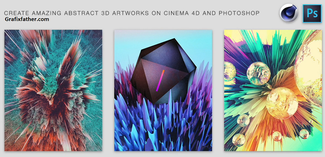 Create amazing 3D illustrations on Cinema 4D and Photoshop