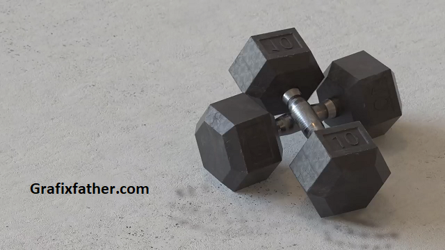 Creating A Dumbbell In Cinema 4D And Arnold Renderer