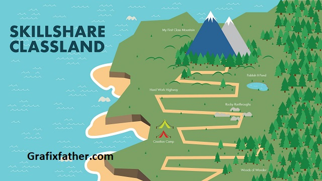 Design an Illustrated Map in Adobe Illustrator with Andrew Brooks