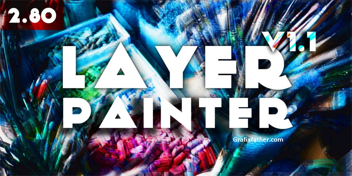 Layer Painter Blender add-On