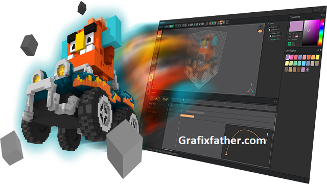 VOX EDIT Create your own 3D objects and characters with 3D pixels