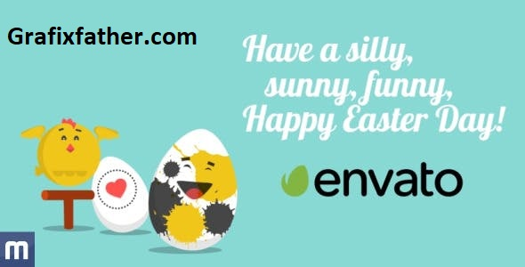 VideoHive Funny Easter Video Greeting Card 10635000