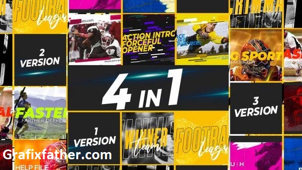 Videohive Extreme Sports 4 in1 24175299