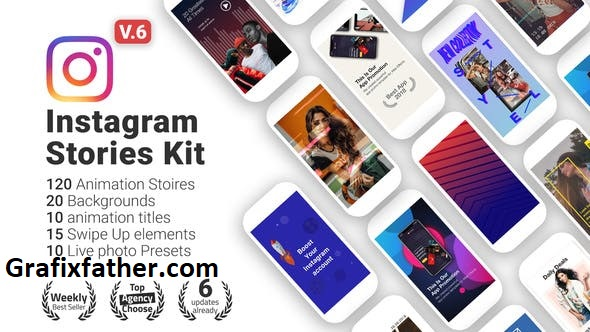 Videohive Instagram Stories V6 22195723