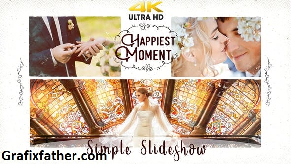 Videohive Simple Slideshow 22803355