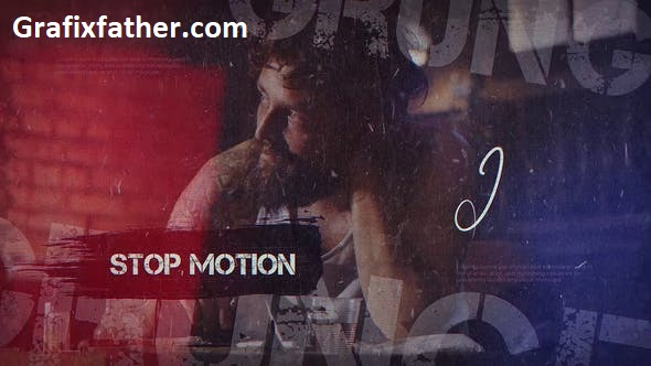 Videohive Stop Motion Grunge 24565379