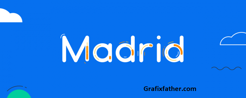 Madrid Animated Typeface Aescript Download