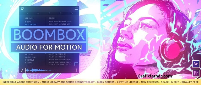 Mt. Mograph BOOMBOX for After Effects And PP