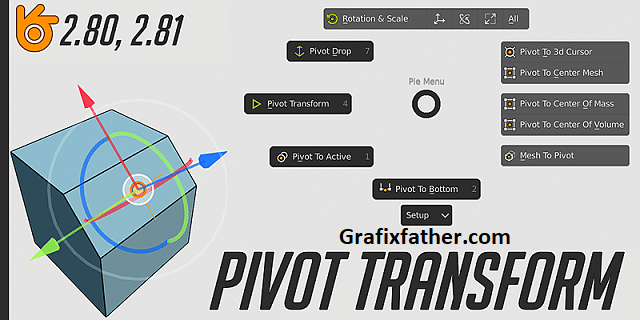 Pivot Transform For Blender Download