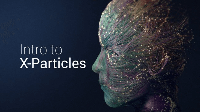 Intro to X-Particles Creating Abstract Images in Cinema 4D