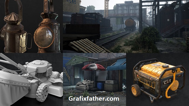 Domestika Creation of realistic props for Video Games