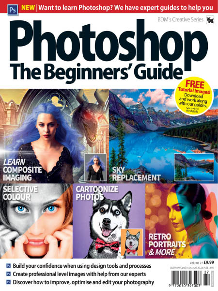 BDMs Creative Series Photoshop The Beginners Guide Volume 27 2019