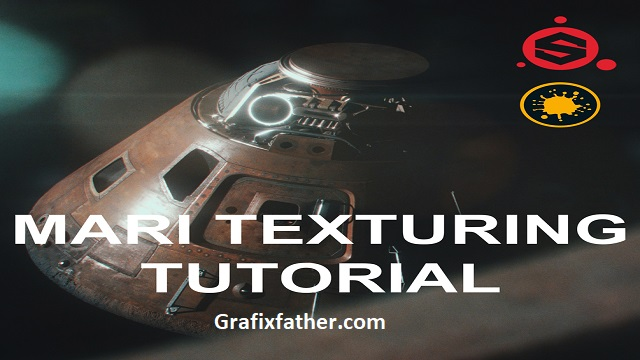 Texturing Tutorial in Mari and Substance Designer For Production By Zak Boxall