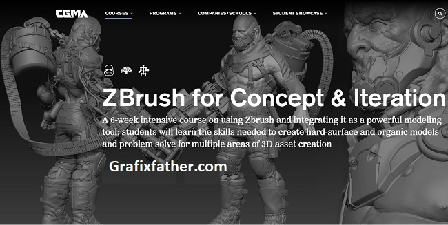 CGMA ZBrush for Concept Iteration